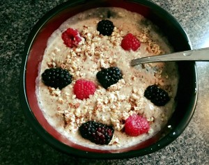 Hearty Hemp Hearts Porridge