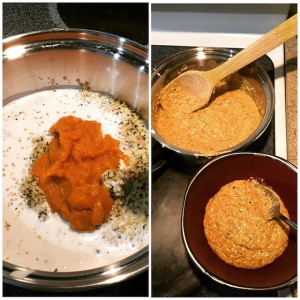 Pumpkin Hemp Hearts Porridge