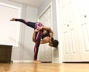 Revolved Half Moon Pose