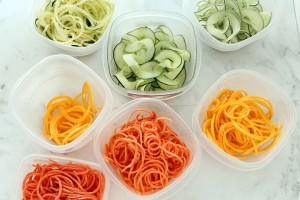 Vegetable Noodles from Inspiralized