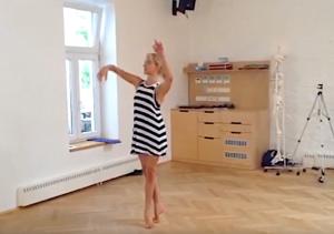 A Ballerina Remembering Dance